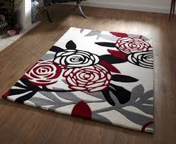 Red White And Black Rug 14 Best Rugs Images On Pinterest Carpets Red Black And