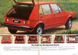 volkswagen hatchback 1980 ausmotive com volkswagen golf brochure u2013 1980