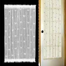 curtains door panel curtains 40 inch door panel curtain french