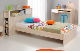 chambre acacia lit enfant contemporain avec environnement acacia blanc comix lit