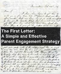 writing a strategy paper the first letter a simple and effective parent engagement strategy