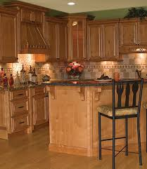 Kitchen With Light Oak Cabinets Oak Cabinets And Granite Kitchens Pinterest Granite