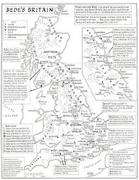 York England Map Maps Of Anglo Saxon England Kemble This Map Is Based Upon Bede U0027s
