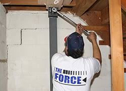 Basement Foundation Repair Methods by Foundation Repair Products Bowed Cracked Basement Walls