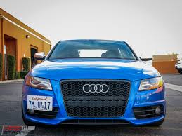 audi s4 rs snap sepang blue b8 audi s4 gets rs style grille at modauto