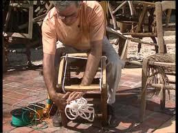 rempailler une chaise rempaillage à la ficelle