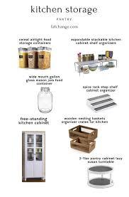 kitchen cabinet storage containers small kitchen storage ideas change
