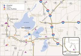 Wisconsin Zip Code Map by Directions U0026 Parking Unitypoint Health Meriter