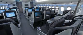 Boeing 787 Dreamliner Interior Boeing 787 Dreamliner Airline World