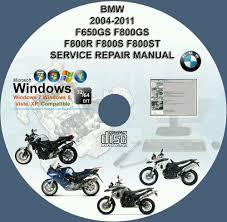 bmw f650gs f800gs f800r f800s f800st manual de servicio de