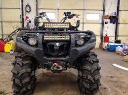 headlights yamaha grizzly atv forum