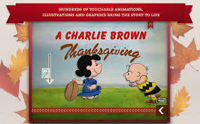 first thanksgiving for kids a charlie brown thanksgiving peanuts read u0026 play android apps