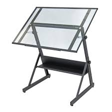 Drafting Table With Parallel Bar Studio Designs Futura Craft Station Draftsman Table For Artists