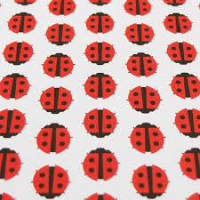 ladybug wrapping paper retro gift wrapping paper by dicky bird ladybird pineapple retro