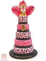 24 cake pattern ideas pink cake box