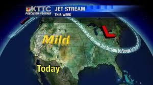 Jet Stream Map Jet Stream Kttc Weather Blog