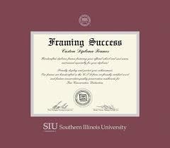 of illinois diploma frame custom diploma frames certificate frames framing success siu