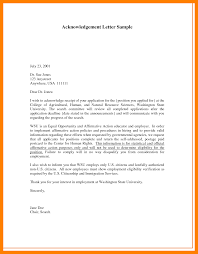 Employee Announcement Template 10 Letter Of Acknowledgement Sample Packaging Clerks
