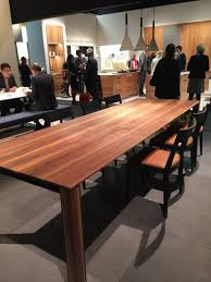 Big Wood Dining Table Trip Into The World Of Stylish Dining Tables