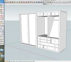 details and dimensions from a sketchup model popular woodworking