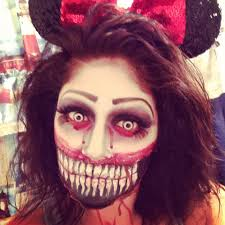 ventriloquist doll halloween costume evil minnie halloween makeup makeupbybelle pinterest