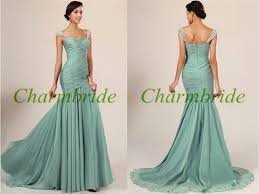 long chiffon bridesmaid dresses with beaded straps elegant women
