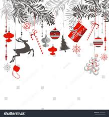 christmas background grey red white black stock vector 154457096