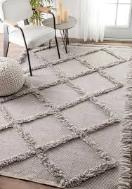 dolcinacn01 embossed frayed diamond trellis rug shaggy rugs