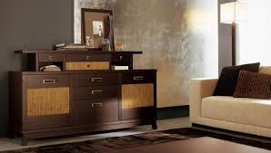 Simple Livingroom Simple Living Room With Beige Sofa Brown Pillows Brown Cabinet And