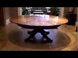 expandable round dining table expandable round dining table youtube