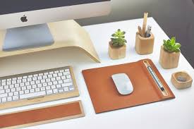 Stylish Desk Accessories Walnut And Maple Desk Collection Moco Loco Submissions