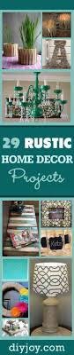 do it yourself country home decor 29 rustic diy home decor ideas