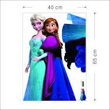 frozen elsa queen anna princess wall sticker wall decals 2 for 20