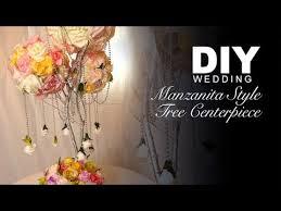 diy manzanita style tree centerpiece youtube