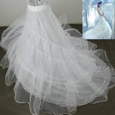 wedding dress underskirt petticoat 3 layer organza bridal dress underskirt petticoat