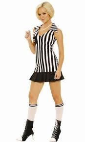 Referee Halloween Costumes Women Women U0027s Playboy Racy Referee Costume Costumes