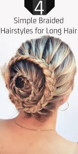 best 25 simple braided hairstyles ideas on pinterest simple