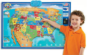map usa zanzoon interactive map usa toys