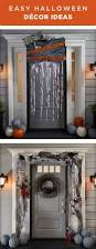 decorate your front door for trick or treaters this halloween