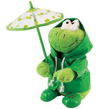Singing Stuffed Animals Cuddle Barn Singing Paddy Green Frog Toys
