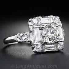 engagement rings a backward glance aju