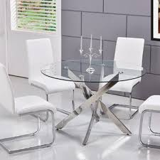 modern round dining kitchen tables allmodern