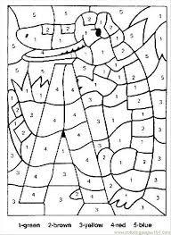 15 images printable christmas math coloring worksheets