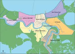 New Orleans Elevation Map by Overview Of New Orleans Levee Failures Lessons Learned And Their