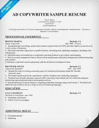 Copywriter Resume Template 13 Best Photos Of Sle Copywriter Resume Template Copy Of