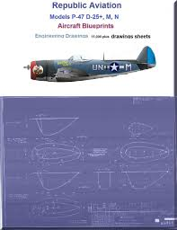 republic p 47d 25 m n series airplane aircraft engineering
