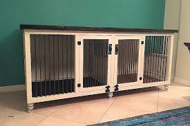 dog kennel side table dog kennel end table mission dog crate end table large dog crate