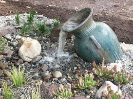 garden exterior design for pond less water fountains which