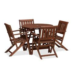 5 Piece Card Table Set Chatham Round Folding Bistro Table Amp Armchair Set Cosco 5 Piece