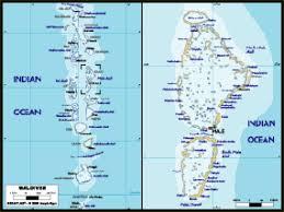 maldives map maldives political wall map maps com